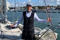 Youngest person to sail round Britain back at Hamble Point