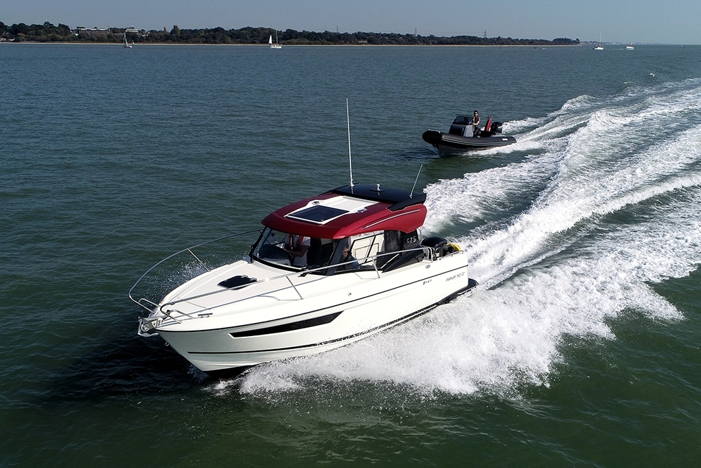 British Boat Club will be showcasing two of its members-only fleet, a Brig RIB and a Parker 675 motorboat